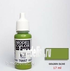 70857 Vallejo acrylic Paint `Model Color Golden-olive/Golden-olive