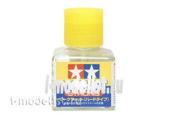 87135 Tamiya Mark Fit Strong (liquid for applying decals) 40ml.with brush