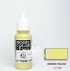 70806 Vallejo acrylic Paint `Model Color` German yellow/German Yellow