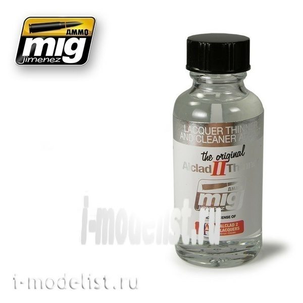 AMIG8200 Ammo Mig LACQUER THINNER AND CLEANER ALC307